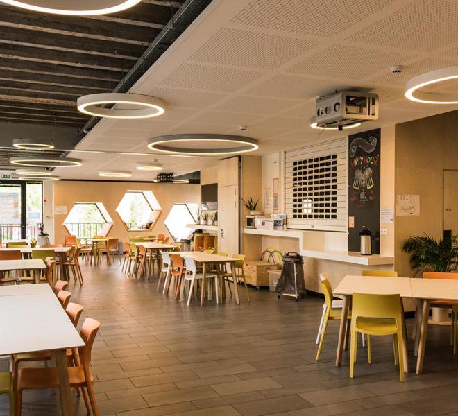 interieurproject - KULeuven bib rechten eetzaal