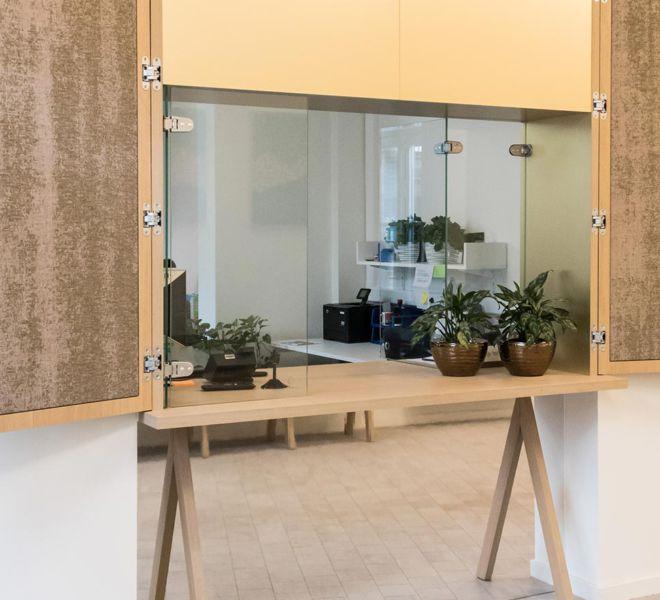 interieurproject - KULeuven ontvangst