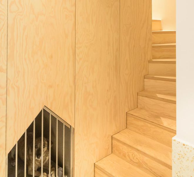 interieurproject - houten trap