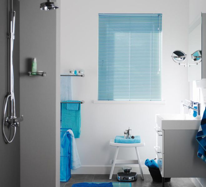 raamdecoratie -badkamer