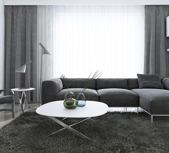 raamdecoratie -design woonkamer