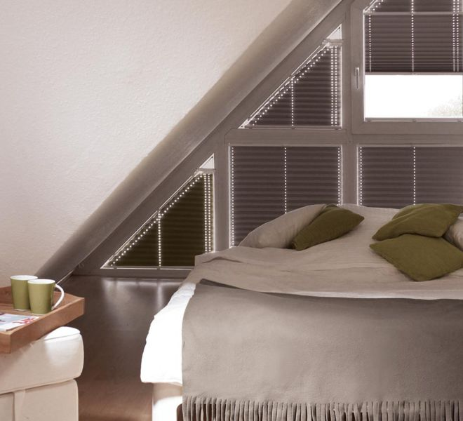 raamdecoratie -slaapkamer