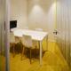 renovatie kantoor glazen wand kasten op maat bureautafel bureaustoel