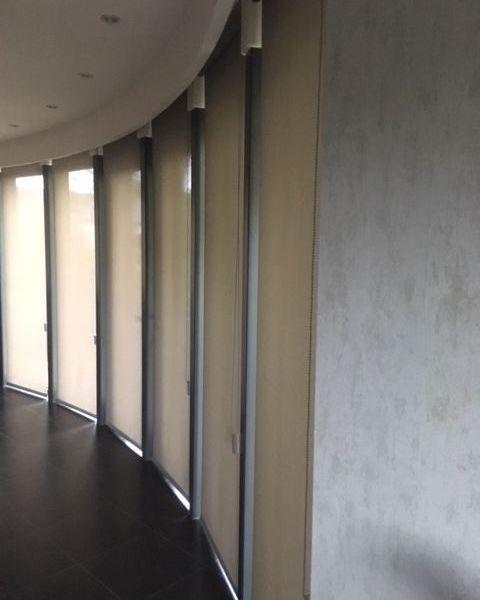 rolgordijn transparant kettingbediening polyscreen